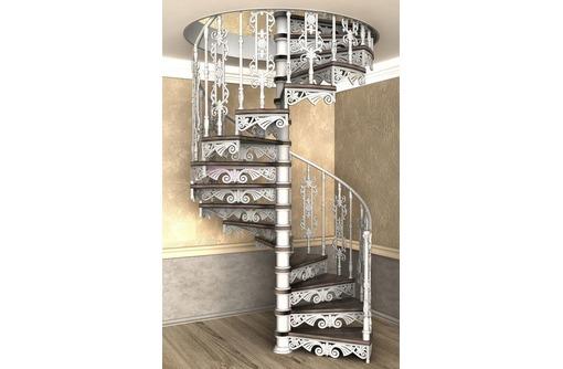Кованая лестница по  индивидуальным размерам. Есть примеры моих работ, фото — «Реклама Севастополя»