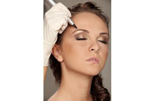 Профессиональный перманентный макияж губ, бровей,век. Диплом! Медик!, фото — «Реклама Евпатории»