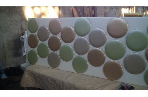услуги по изготовлению мягких стеновых панелей, фото — «Реклама Севастополя»
