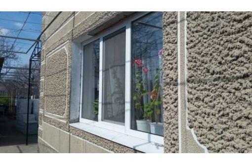 Пластиковые двери в дом и тех.помещения, фото — «Реклама Партенита»
