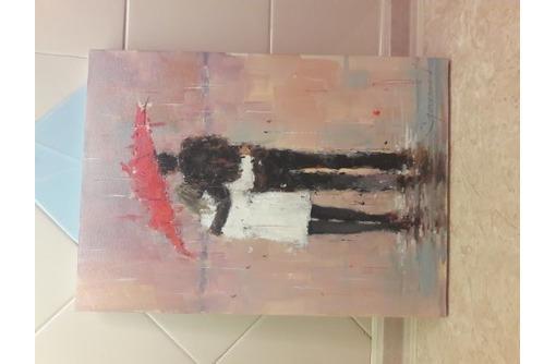 масло на холсте девушка с парнем, фото — «Реклама Севастополя»