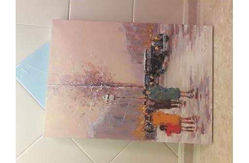 картины на холсте масло вид зима, фото — «Реклама Севастополя»
