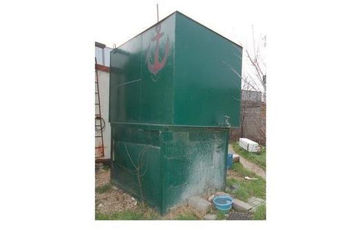 Продам   метал.   бак  для воды - V 6 м3 ., фото — «Реклама Севастополя»