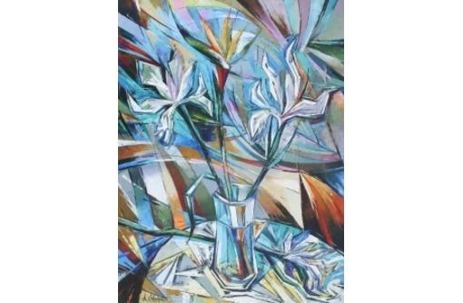 """Картины для интерьера. Триптих """"Абстрактный натюрморт"""". Яворский., фото — «Реклама Севастополя»"""