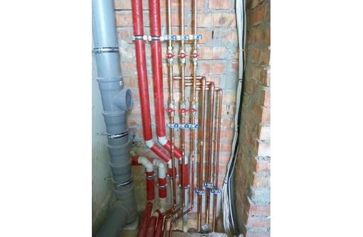 Качественный монтаж систем водоснабжения, канализации, сантехники, проектные работы., фото — «Реклама Севастополя»