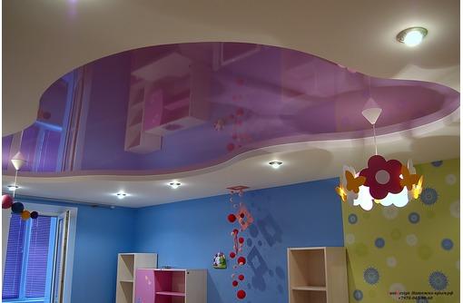 Европейские сертифицированные натяжные потолки в детскую, фото — «Реклама города Саки»