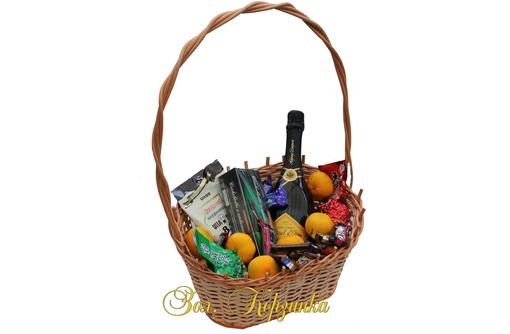 Подарочные корзины  и плетеные изделия, фото — «Реклама Евпатории»
