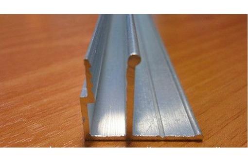 Профиль алюминиевый потолочный для натяжных потолков, фото — «Реклама Симферополя»