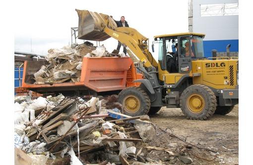 Вывоз строительного мусора, земли, мебели, хлама и т.д., фото — «Реклама Феодосии»