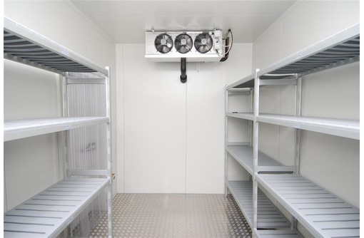Холодильные камеры шоковой заморозки. Глубокая заморозка мяса и рыбы в Феодосии. Проект, монтаж., фото — «Реклама Феодосии»