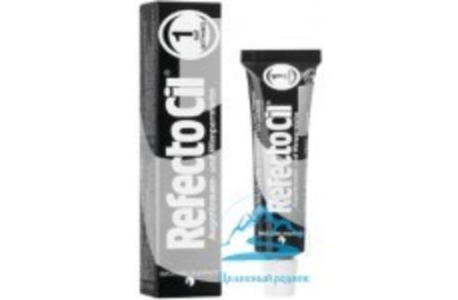 Краска для бровей рефектоцил (Refectocil) - Цвет №1 : черная. Австрия!, фото — «Реклама Щелкино»