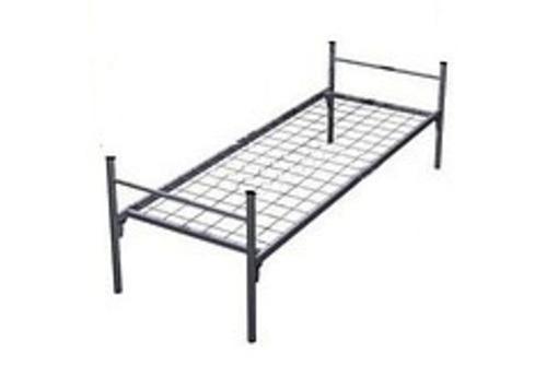 Кровати металлические оптом от производителя по низким ценам, фото — «Реклама Белогорска»