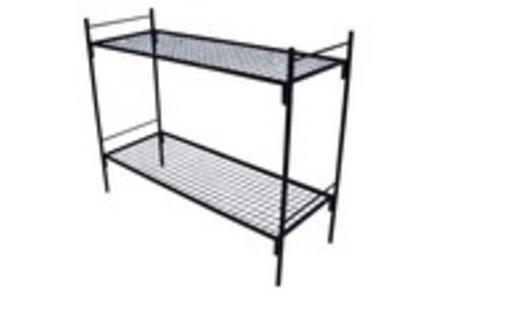 Кровать металлическая .усиленная из 32 трубы.кровати для общежитий.хостела.кровати в бытовки, фото — «Реклама Бахчисарая»