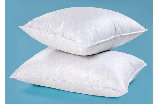 Пуховая подушка по ценам производства 320 рублей в гостиницы и общежития, фото — «Реклама Симферополя»