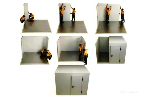 Сэндвич - Панели для Холодильной Камеры.Монтаж,доставка., фото — «Реклама Белогорска»