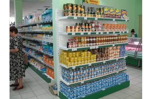 Стеллажи металлические торговые. В Симферополе ул.Кубанская 9, фото — «Реклама Симферополя»