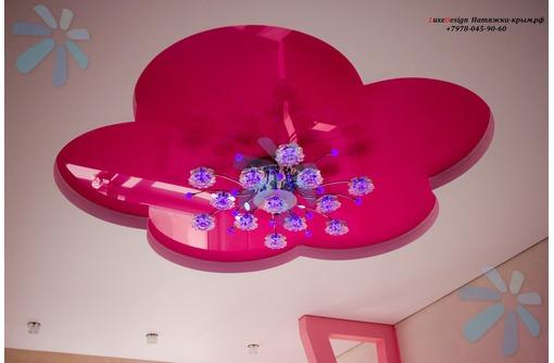Натяжные потолки в детской LuxeDesign, фото — «Реклама Алушты»