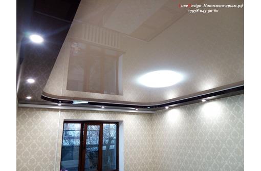 Многоуровневые натяжные потолки  LuxeDesign, фото — «Реклама Алушты»
