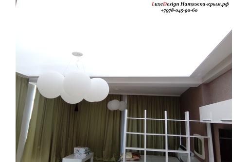 Светопропускные натяжные потолки TRANSLUCENT, фото — «Реклама города Саки»