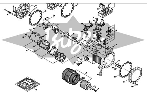 Запасные части (ЗИП) к компрессорам Bitzer в Севастополе и Крыму. Продажа. Ремонт компрессоров, фото — «Реклама Севастополя»