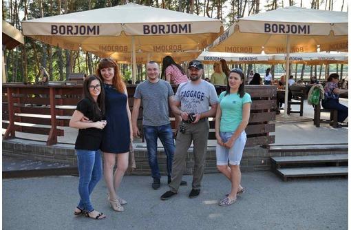 Большой зонт для кафе 4х4 м., фото — «Реклама Севастополя»