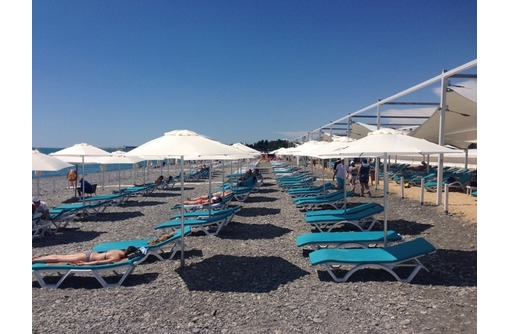 Пляжный круглый зонт 3 метра, фото — «Реклама Севастополя»