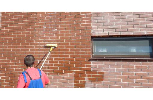 очистка фасада,тротуарной плитки от высолов,защита от влаги., фото — «Реклама Симферополя»
