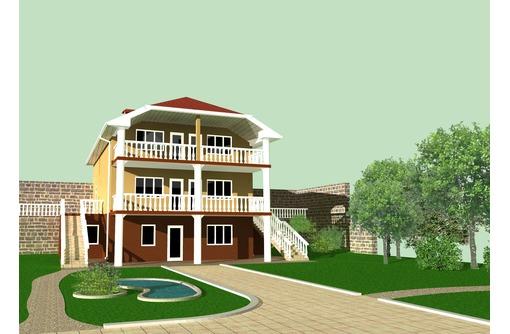 На ЮБК 3-х эт.дом (идеально и под мини-пансионат) прекрасный вид на море, фото — «Реклама Алушты»