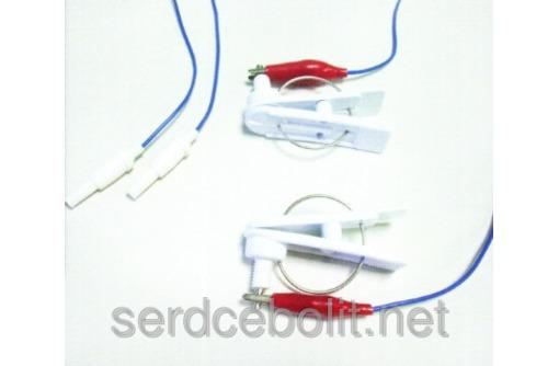 Электроды ЭЭГ мостиковые чашечковые ушные, фото — «Реклама Севастополя»