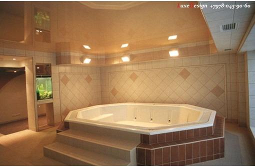 Натяжные потолки в ванную комнату-правильный выбор, фото — «Реклама Джанкоя»
