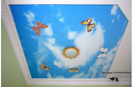 Европейские сертифицированные натяжные потолки в детскую, фото — «Реклама Джанкоя»
