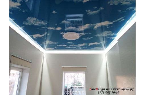 Парящие натяжные потолки-своеобразная игра света, фото — «Реклама Джанкоя»