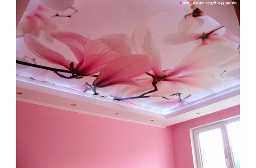УФ фотопечать натяжные потолки стены от производителя, фото — «Реклама Джанкоя»
