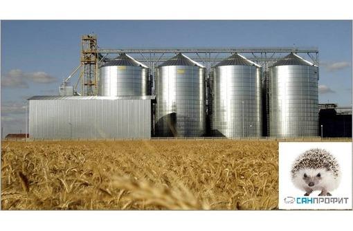 Дезинсекция зернохранилищ, силосов элеваторов, зерна, фото — «Реклама Керчи»