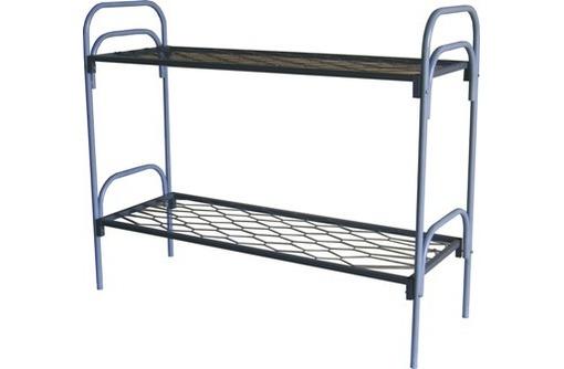 Кровати металлические для гостиницы, фото — «Реклама Судака»