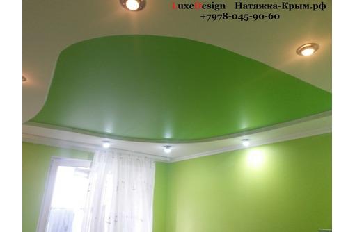 Матовые натяжные потолки-класика в вашем доме, фото — «Реклама Бахчисарая»