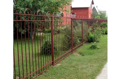 Сварной забор из металла, фото — «Реклама Севастополя»
