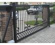Откатные ворота DoorHan, металлические откатные ворота из профнастила, стального листа, кованые, фото — «Реклама Севастополя»