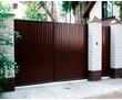 Распашные ворота DoorHan, металлические распашные ворота из профнастила, стального листа, кованые, фото — «Реклама Севастополя»