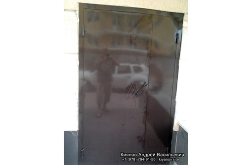 Изготовление и установка металлических дверей любой сложности, фото — «Реклама Евпатории»