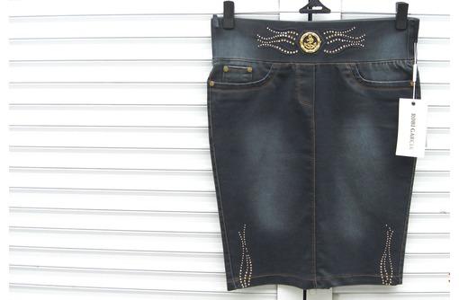 Джинсовая  юбка  производство  Турция, фото — «Реклама Бахчисарая»