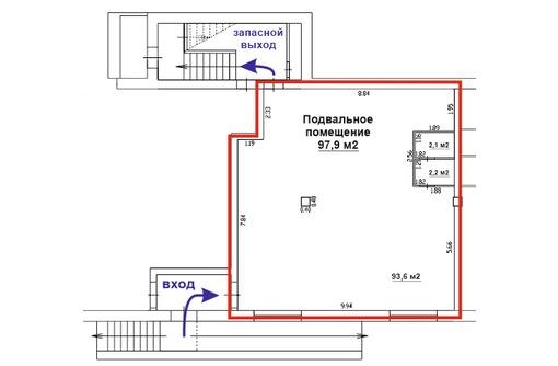 Подвальное помещение 98 м2 на ул. Парковая, 16, фото — «Реклама Севастополя»