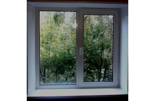 Окно 1,3*1,4 Всего за 4800руб из ПВХ, фото — «Реклама Белогорска»