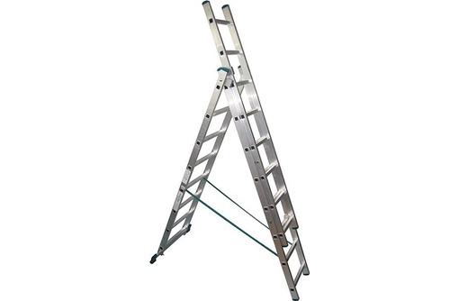 Куплю лестница 3 х секционная 3х10, алюминиевая, бытовая, фото — «Реклама Симферополя»