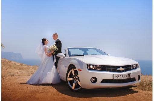 Кабриолет Chevrolet Camaro на свадьбу Севастополь,Ялта,Крым, фото — «Реклама Севастополя»