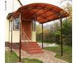 Навесы и козырьки из металла и поликарбоната, фото — «Реклама Севастополя»
