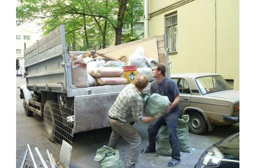 Вывоз в Бахчисарае строительного мусора, хлама, старой мебели «под ключ» – ТК «РазГруз», фото — «Реклама Бахчисарая»