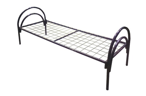 Металлические кровати для спальни, фото — «Реклама Щелкино»