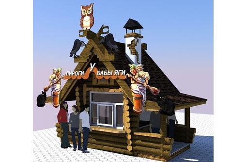 Изготавливаем деревянные киоски любой сложности, фото — «Реклама Севастополя»