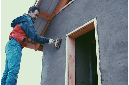 Штукатурка фасадов домов., фото — «Реклама Севастополя»